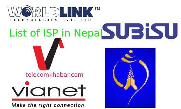 list of isp in nepal