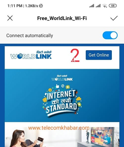 get free internet access in nepal