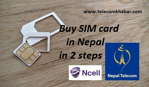 buy sim card in nepal