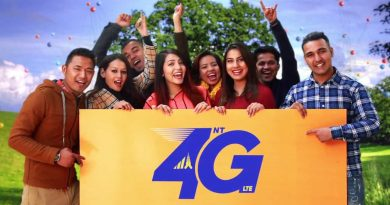 nepal telecom 4g lte in 800,1800,2300 frequency spectrum