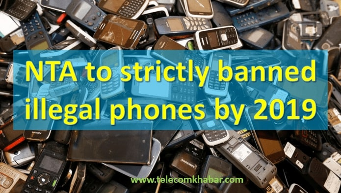 nta banned illegal phone in nepal