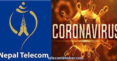nepal telecom corona virsu COVID-19 awareness from CRBT