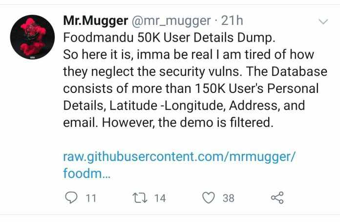 foodmandu-data-breach-hacker-twit-statement