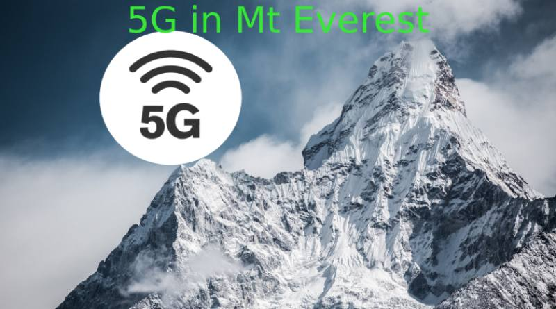 5G in Mt Everest but not in Nepal side