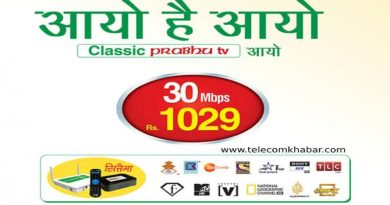 classic tech 30 Mbps at Rs 1029 with free IP TV offer