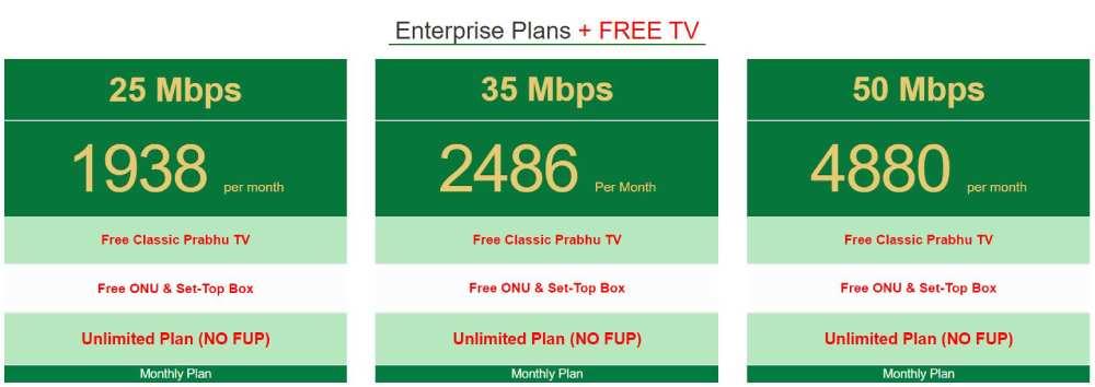classic prabhu tv enterprise plans