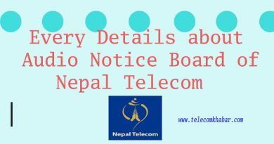 audio notice board service of nepal telecom