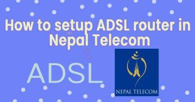 how to setup nepal telecom adsl for all router