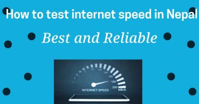 How to test internet speed in Nepal in pc and mobile