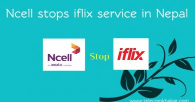 ncell stops iflix services in nepal
