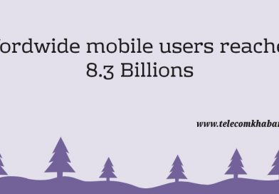 worldwide mobile users reached 8.3 billions by 2019