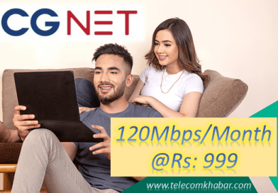 CGNET starts internet service of 120 Mbps at Rs 999